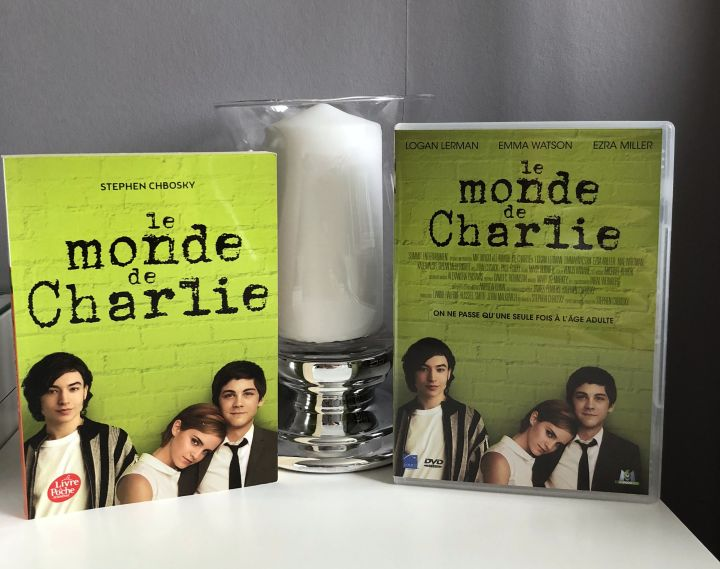 Lecture juillet 2018 + film Le monde de Charlie / The perks of being a wallflower