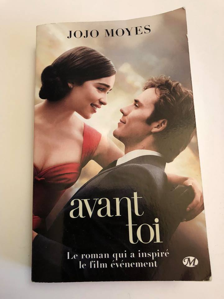 Lecture + film Aout 2018 : Avant toi/ Me Before You