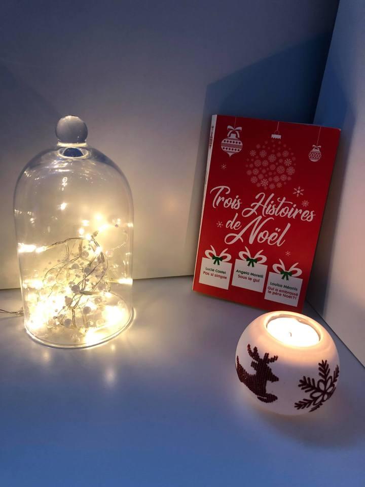 En attendant Noël : 3 histoires romantiques à lire au coin dufeu