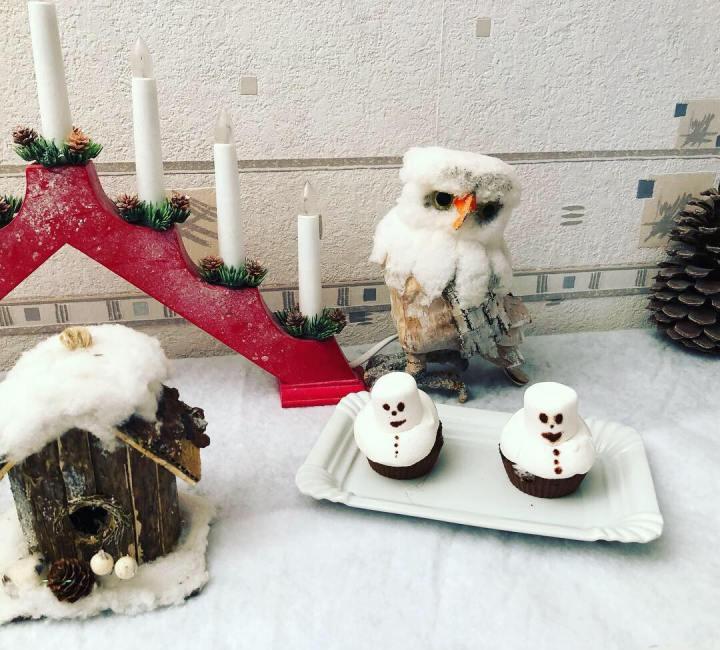 En attendant Noel : Cupcakes auxmarshmallows