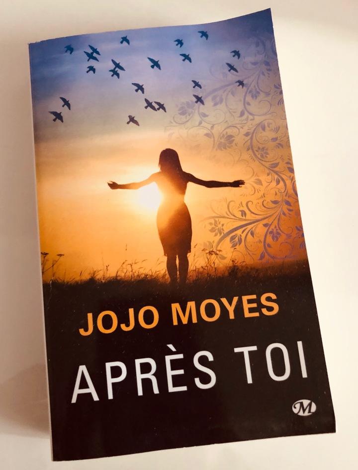 Lecture janvier 2019 : Après de toi de JojoMoyes