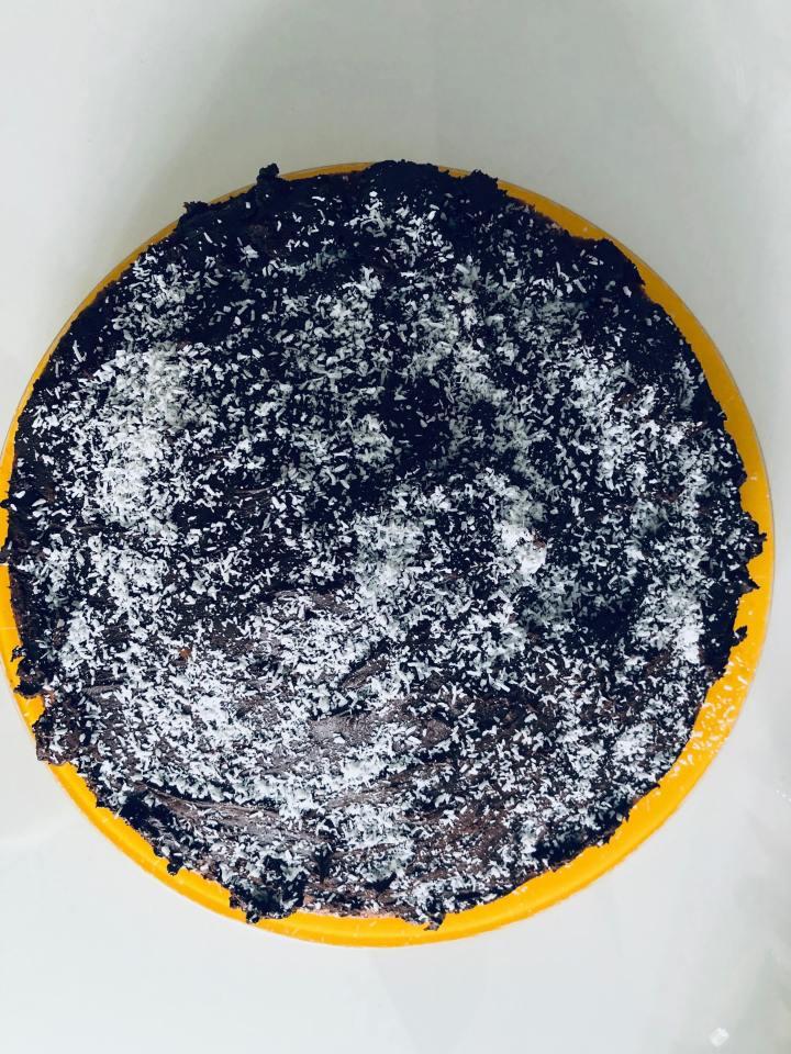 Gâteau yaourt chocolat / noix decoco